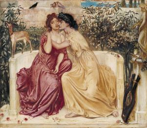 Sappho_and_Erinna_in_a_Garden_at_Mytilene
